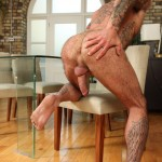 Butch-Dixon-Seth-Wilkins-Hairy-Muscle-Daddy-IMG_8268-150x150 Hot Hairy Muscled Daddy Jacks His Thick Uncut Cock