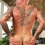 Butch-Dixon-Seth-Wilkins-Hairy-Muscle-Daddy-IMG_8270-150x150 Hot Hairy Muscled Daddy Jacks His Thick Uncut Cock