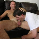 New-York-Straightmen-NY-Logan-daddy-cock-08-150x150 Hairy Straight Daddy Drops A Load Down a Gay Mans Mouth