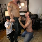 NewYorkStraightMen Rocco Trey JR Rimming Cock 01 150x150 Amateur Straight Muscle Daddy Gets Rimmed and Blown by Two Gay Guys