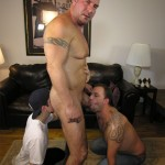 NewYorkStraightMen Rocco Trey JR Rimming Cock 05 150x150 Amateur Straight Muscle Daddy Gets Rimmed and Blown by Two Gay Guys