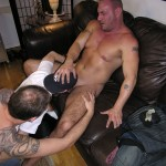 NewYorkStraightMen Rocco Trey JR Rimming Cock 10 150x150 Amateur Straight Muscle Daddy Gets Rimmed and Blown by Two Gay Guys