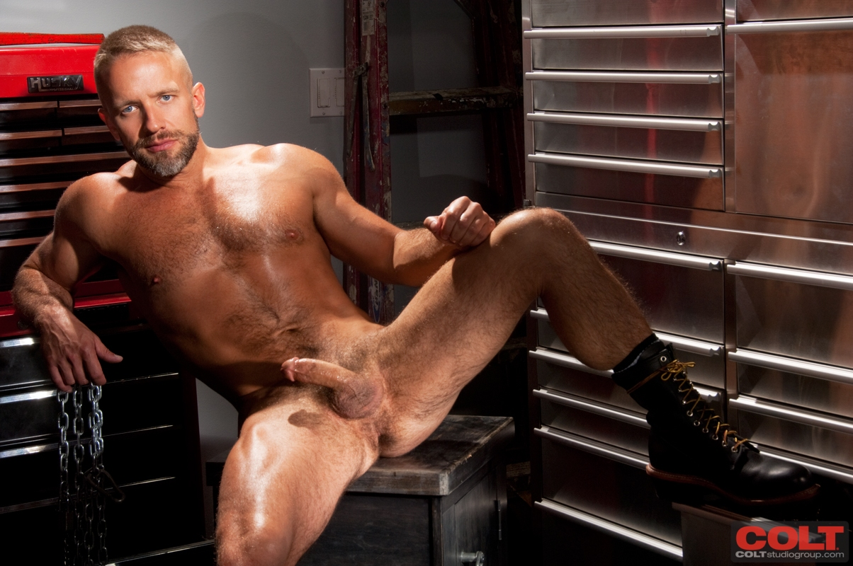 Colt Armour Bob Hager and Dirk Caber Hairy Beefy Men Fucking 282 New From Colt Studio: Bob Hager and Dirk Caber   Hairy Beefy Man Fuck