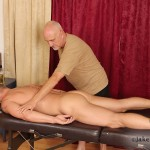 Jake-Cruise-Jeremy-Stevens-Massaged-Blowjob-03-150x150 Amateur Daddy Gives His Younger Friend a Massage and Blowjob
