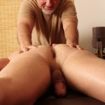 Jake Cruise Jeremy Stevens Massaged Blowjob 05 150x150 Amateur Daddy Gives His Younger Friend a Massage and Blowjob