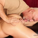 Jake-Cruise-Jeremy-Stevens-Massaged-Blowjob-08-150x150 Amateur Daddy Gives His Younger Friend a Massage and Blowjob