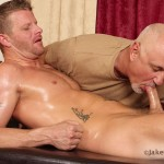 Jake Cruise Jeremy Stevens Massaged Blowjob 10 150x150 Amateur Daddy Gives His Younger Friend a Massage and Blowjob