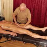 Jake Cruise Jeremy Stevens Massaged Blowjob 12 150x150 Amateur Daddy Gives His Younger Friend a Massage and Blowjob