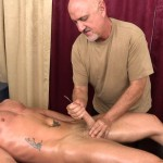Jake Cruise Jeremy Stevens Massaged Blowjob 14 150x150 Amateur Daddy Gives His Younger Friend a Massage and Blowjob