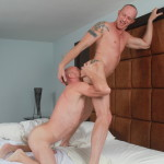 Bareback That Hole Parker and Mason Garet Muscle Daddy Barebacking 10 150x150 Amateur Muscle Daddy Fucks His Buddy Bareback With His Big Cock