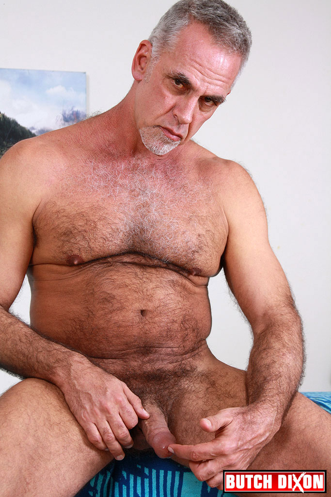 Butch Dixon Jeff Grove and Josh Ford Hairy Daddies Fucking with this Hairy Daddy Cock 02 Jeff Grove and Josh Ford:  Amateur Hairy Daddies Barebacking