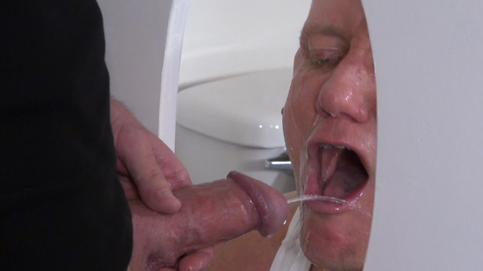 Raw-and-Rough-Jason-Mitchell-Mason-Garet-Nick-Moretti-and-Cope-Truck-Stop-Sex-Piss-play-01 Piss And Cock Play In A Truck Stop Bathroom With Four Truckers