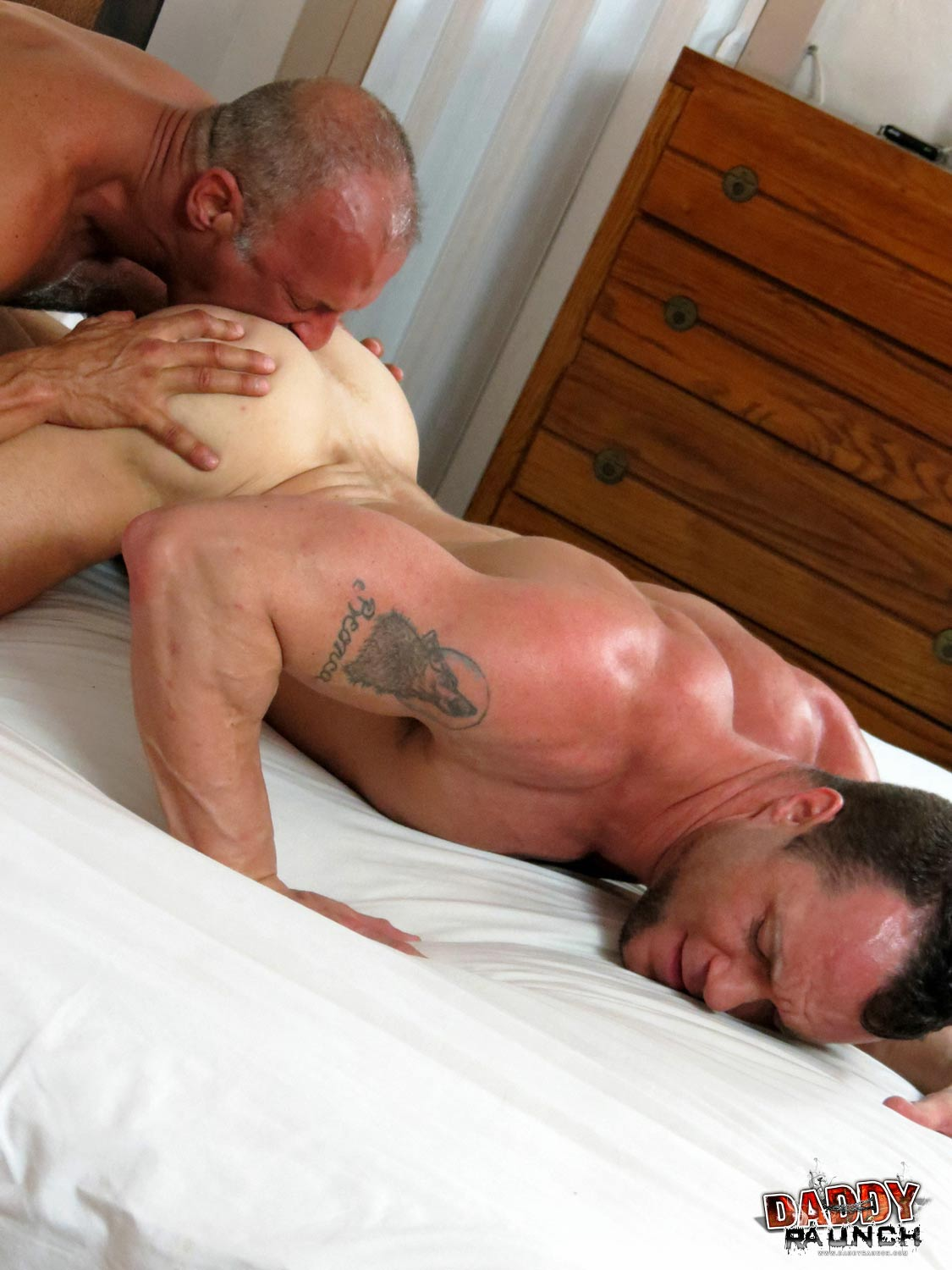 Daddy-Raunch-Coach-Austin-Drew-Sumrok-Daddy-Coach-Fucking-A-Muscle-Jock-Amateur-Gay-Porn-10 Hairy Daddy Coach Fucks A Younger Jock Bareback and Hard