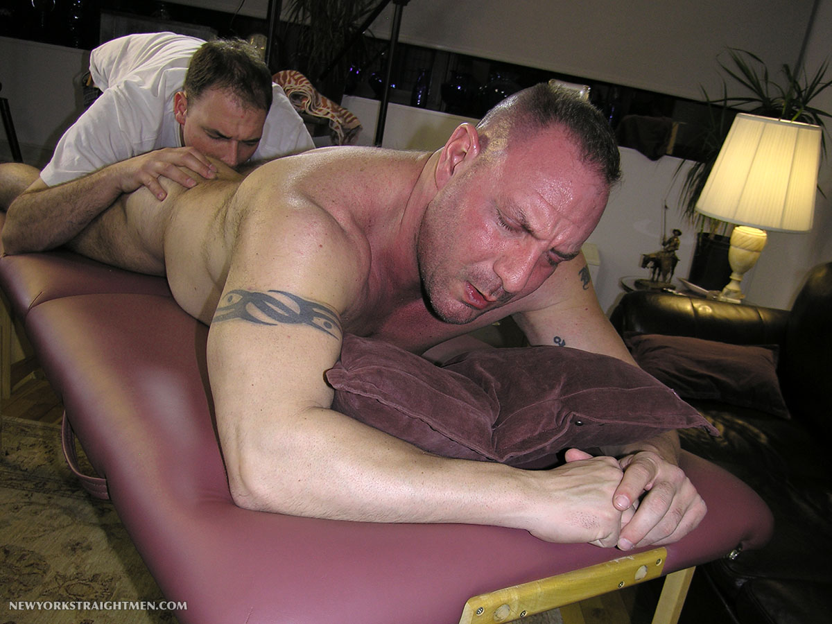 New York Straight Men Rocco Straight Muscle Daddy Getting a Blow Job Amateur Gay Porn 04 Straight Chubby Muscle Daddy Gets Rimmed and Blown By A Gay Guy