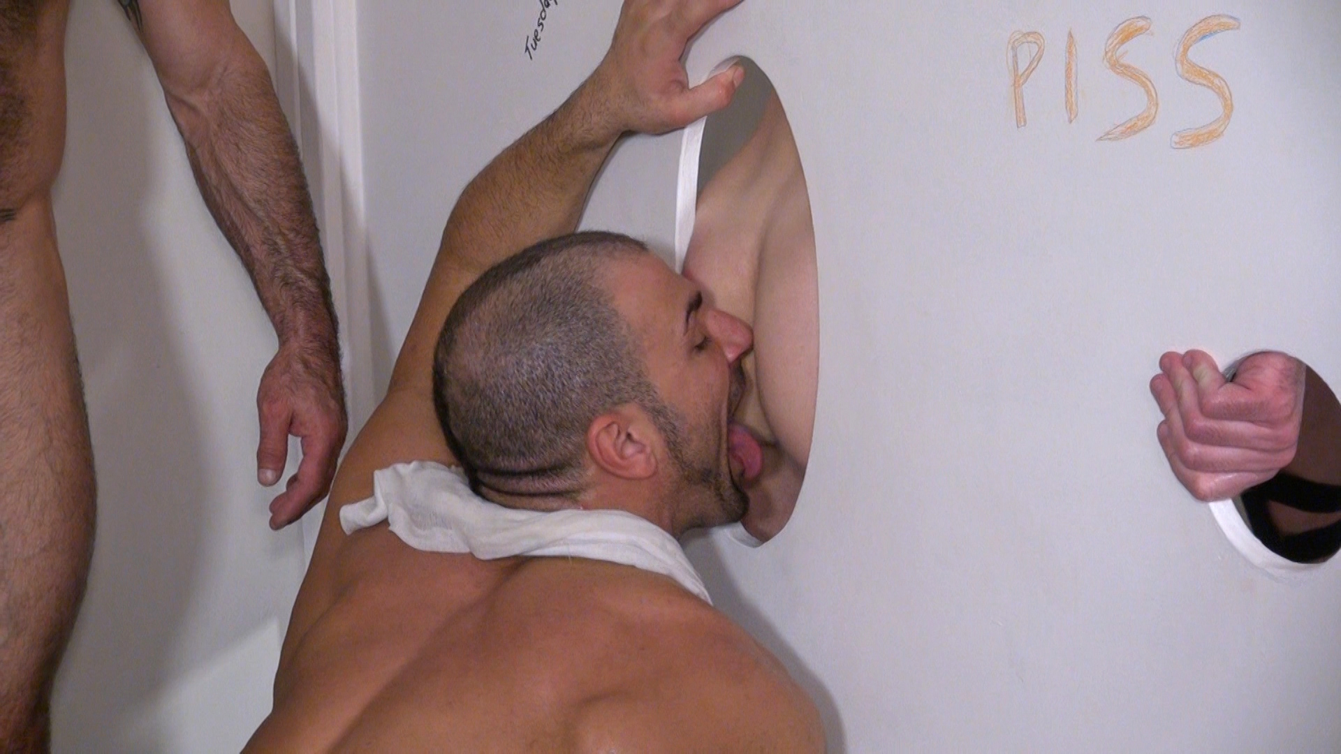 Raw and Rough Jason Mitchell Mason Garet Todd Maxwell Nick Moretti Cope and Derek Anthony Bareback Truck stop gloryhole sex Amateur Gay Porn 12 Amateur Trucker Sex At A Gloryhole With Piss, Cum and Bareback Action