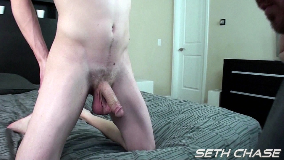 Seth Chase Daddy taking a bareback load from a younger guy up his ass Seth and Kyle Amateur Gay Porn 07 Daddy Takes His First Ever Bareback Load Up His Ass From a Young Stud