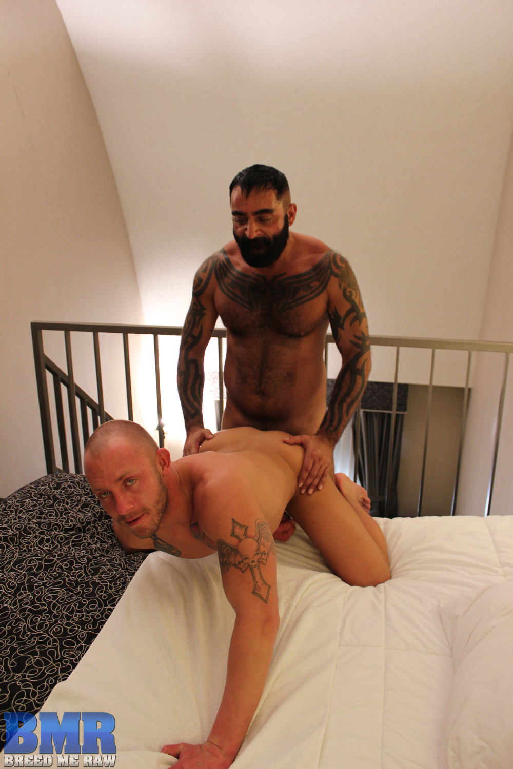 Breed Me Raw Tom Colt and Preston Johnson Hairy Daddy Barebacking Amateur Gay Porn 11 Amateur Hairy Tatted Daddy Barebacking a Hot Young Smooth Bottom