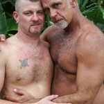 Hairy-and-Raw-Daddy-Jeff-Grove-and-Christian-Matthews-Bareback-BBBH-Amateur-Gay-Porn-12-150x150 Amateur Hairy Silver Daddy With Thick Cock Barebacks His Hung Pool Boy