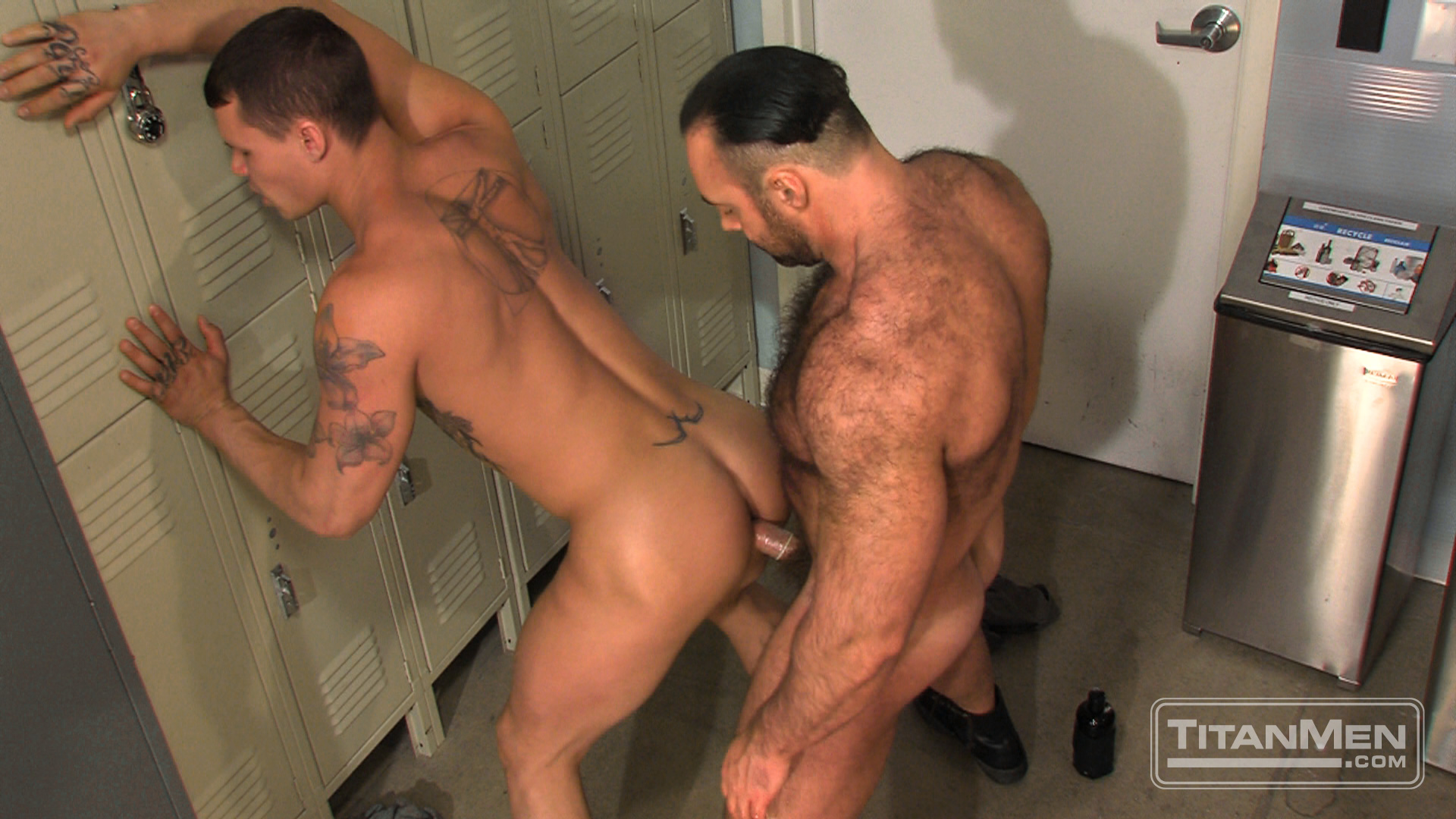 otla_scene02_022 Hung Hairy Muscle Corrections Officer Fucks A Smooth Hung Muscle Inmate