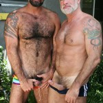 Butch Dixon Jake Marshall and Marco Rios Silver Daddy Fucks His Cub Amateur Gay Porn 06 150x150 Muscle Silver Daddy Jake Marshall Fucks His Younger Hairy Boyfriend