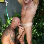 Butch Dixon Jake Marshall and Marco Rios Silver Daddy Fucks His Cub Amateur Gay Porn 12 150x150 Muscle Silver Daddy Jake Marshall Fucks His Younger Hairy Boyfriend