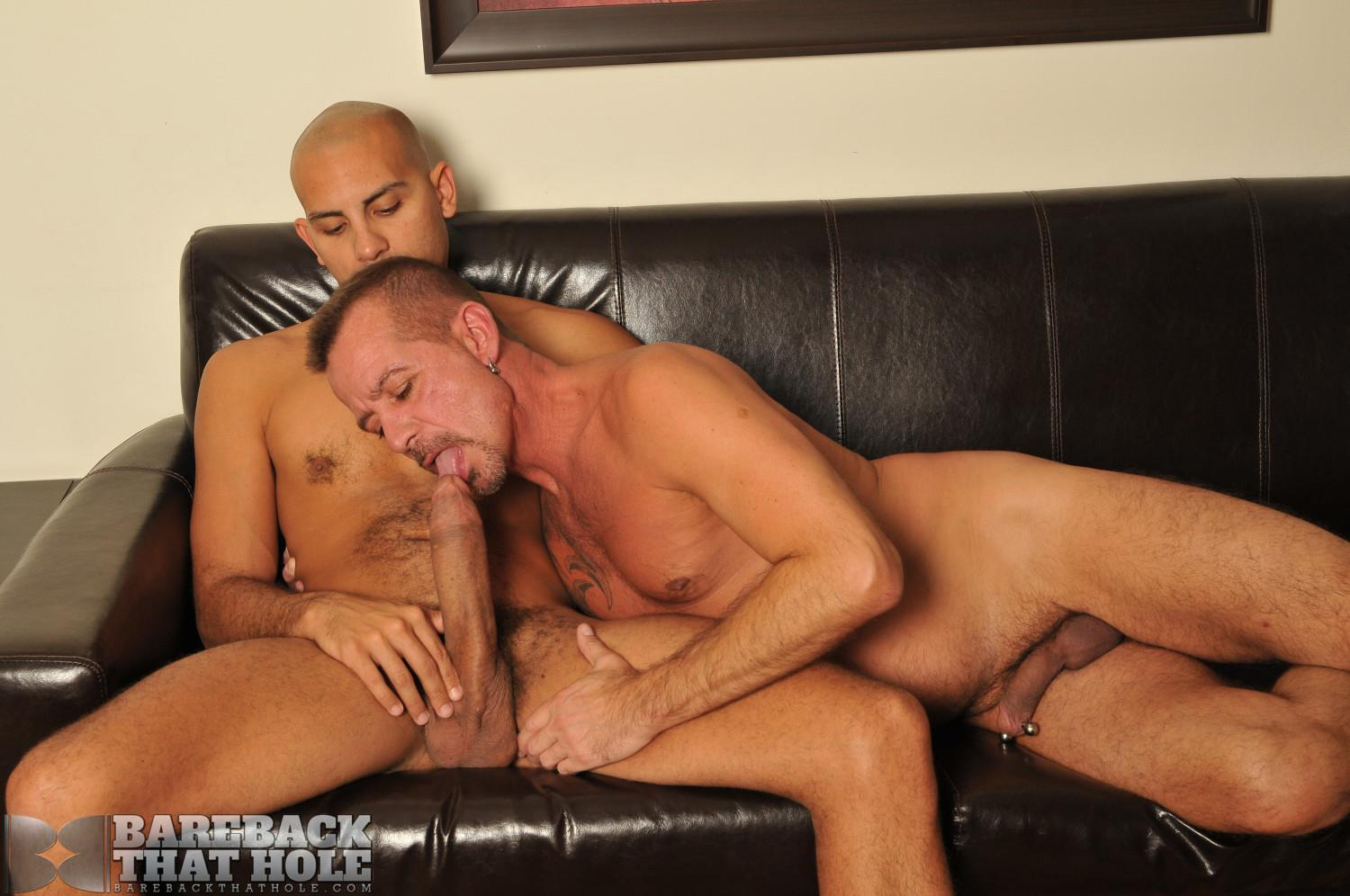 Bareback-That-Hole-Antonio-Biaggi-and-Pierce-Miller-BBBH-Huge-Cock-Bareback-Fucking-Amateur-Gay-Porn-14 Antonio Biaggi Barebacks A Pierced Daddy With His 12