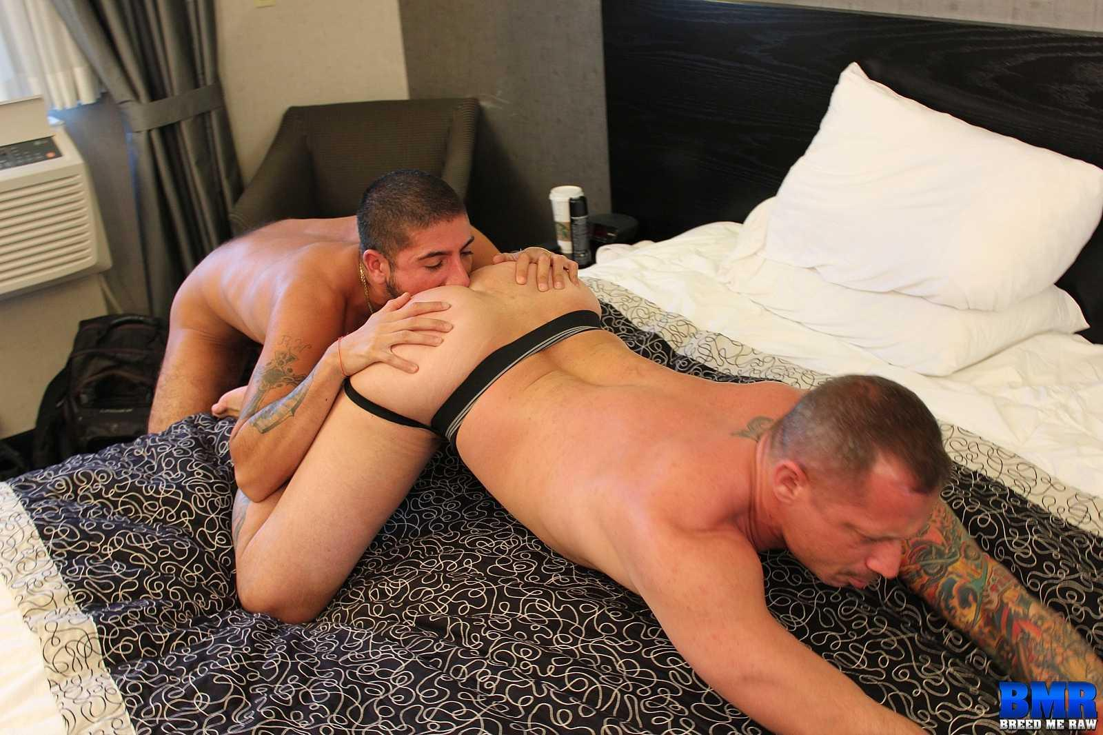 Breed-Me-Raw-Kyle-Savage-and-Sebastian-Rio-White-Daddy-Gets-Barebacked-By-Big-Uncut-Latino-Cock-Amateur-Gay-Porn-01 Jock Strap Daddy Takes A Big Latino Uncut Cock Bareback And Raw