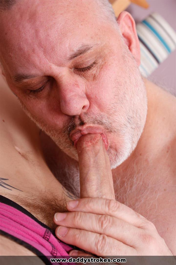 Daddy-Strokes-Chubby-Hairy-Daddy-Blowjobs-with-Younger-House-Boy-Amateur-Gay-Porn-05 Chubby Hairy Daddy Trades Blow Jobs With His Young House Boy