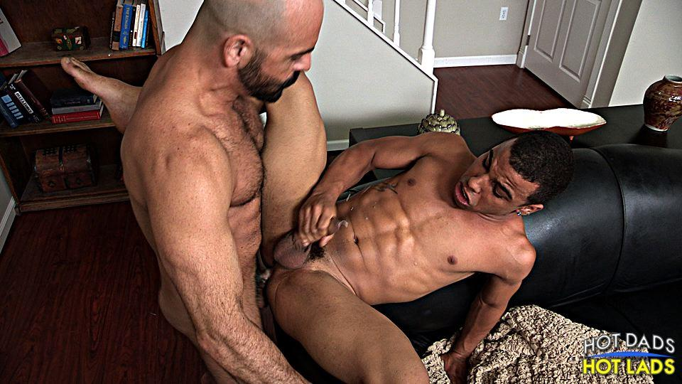 Hot-Dads-Hot-Lads-Adam-Russo-and-Trelino-Hairy-Muscle-Daddy-Fucks-A-Young-Black-Ass-Amateur-Gay-Porn-18 Sexy Hairy Muscle Daddy Fucks A Tight Young Black Ass
