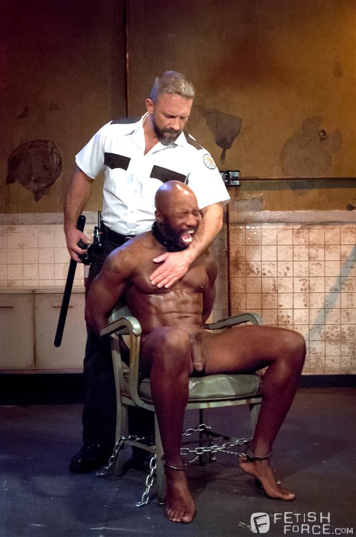 Fetish-Force-Race-Cooper-and-Dirk-Caber-Black-Guy-Forced-To-Suck-White-Cock-Amateur-Gay-Porn-05 Black Inmate Race Cooper Forced To Suck A Guards Thick White Cock