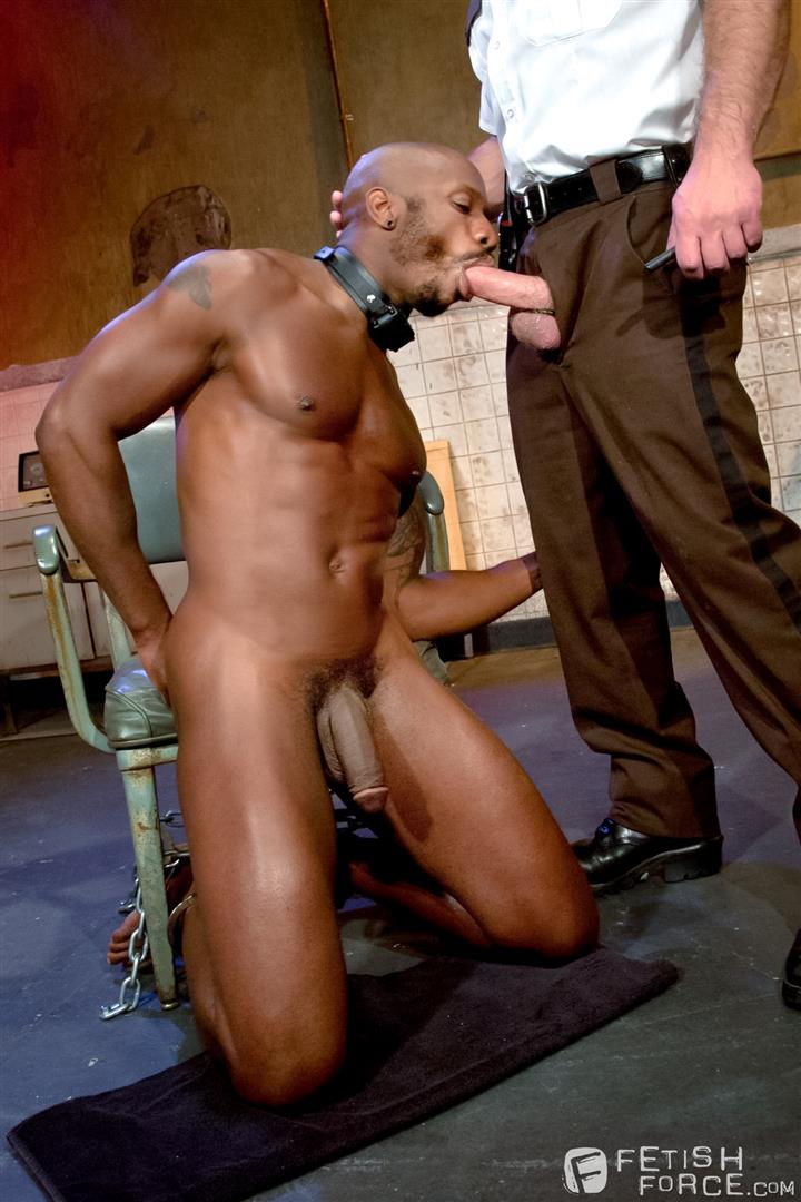 Fetish Force Race Cooper and Dirk Caber Black Guy Forced To Suck White Cock Amateur Gay Porn 12 Black Inmate Race Cooper Forced To Suck A Guards Thick White Cock