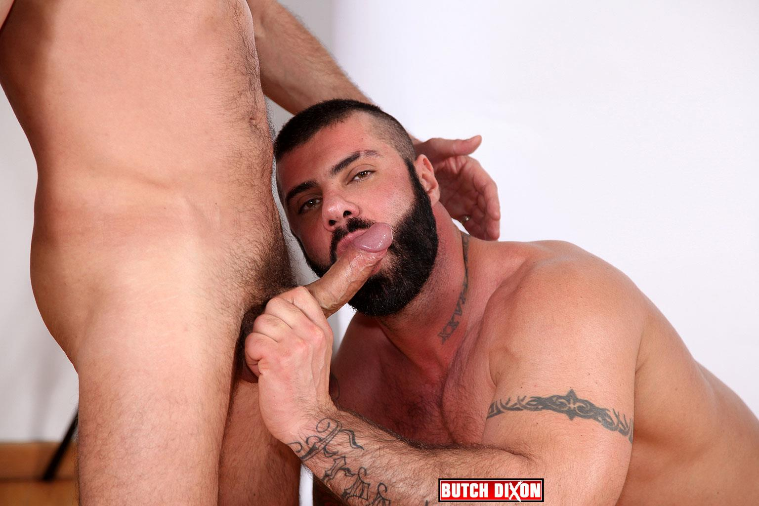 Butch-Dixon-Alex-Marte-and-Antonio-Garcia-Beefy-Hunks-With-Big-Uncut-Cocks-Fucking-Amateur-Gay-Porn-20 Beefy Burly Muscle Guys With Thick Uncut Cocks Fucking Hard