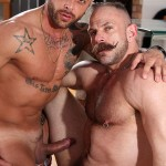Butch Dixon Samuel Colt and Frank Valencia Hairy Muscle Daddy Getting Fucked By Latino Cock Amateur Gay Porn 01 150x150 Happy Fathers Day: Hairy Muscle Daddy Samuel Colt Taking A Big Cock Up The Ass