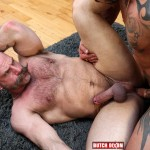 Butch Dixon Samuel Colt and Frank Valencia Hairy Muscle Daddy Getting Fucked By Latino Cock Amateur Gay Porn 12 150x150 Happy Fathers Day: Hairy Muscle Daddy Samuel Colt Taking A Big Cock Up The Ass