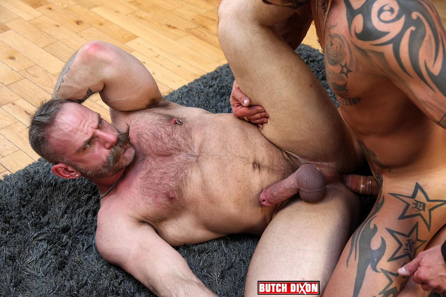 Butch-Dixon-Samuel-Colt-and-Frank-Valencia-Hairy-Muscle-Daddy-Getting-Fucked-By-Latino-Cock-Amateur-Gay-Porn-12 Happy Fathers Day: Hairy Muscle Daddy Samuel Colt Taking A Big Cock Up The Ass