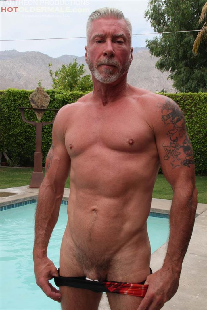 Hot Older Male Dean Burke Silver Daddy Jerking His Cock Amateur Gay Porn 08 Hot Older Male Introduces Two New Sexy Daddies