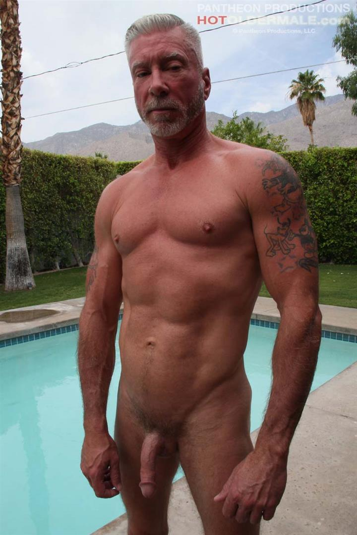 Hot-Older-Male-Dean-Burke-Silver-Daddy-Jerking-His-Cock-Amateur-Gay-Porn-17 Hot Older Male Introduces Two New Sexy Daddies