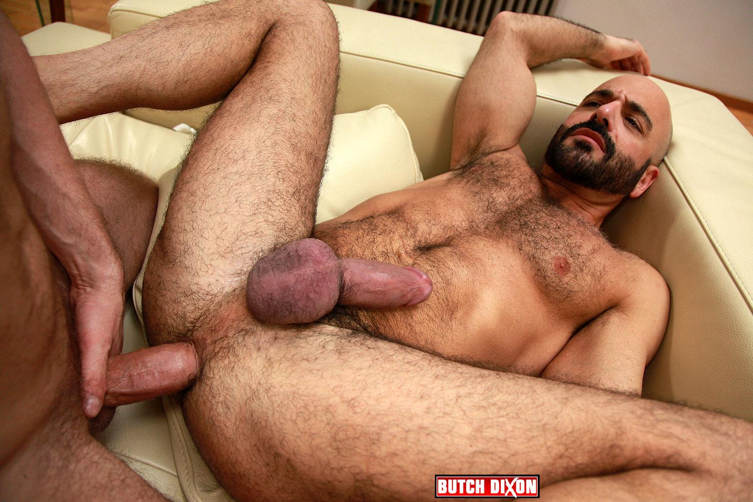 Butch-Dixon-Adam-Russo-and-Adam-Dacre-Getting-Fucked-By-A-Big-Uncut-Cock-Amateur-Gay-Porn-09 Adam Russo Getting A Big Bareback Uncut Cock Up His Hairy Ass