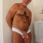 Hot Older Male Rex Silver Silver Daddy Hairy Old Daddy Jerking His Thick Hairy Cock Amateur Gay Porn 19 150x150 Hairy Chubby Daddy In Jock Strap Stroking His Thick Hairy Cock