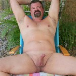 Hot Older Male Mitch Davis Beefy Chubby Smooth Daddy Jerking His Thick Cock Amateur Gay Porn 02 150x150 Beefy Smooth Daddy With A Thick Cock Jerking Off