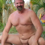 Hot Older Male Mitch Davis Beefy Chubby Smooth Daddy Jerking His Thick Cock Amateur Gay Porn 04 150x150 Beefy Smooth Daddy With A Thick Cock Jerking Off
