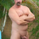 Hot Older Male Mitch Davis Beefy Chubby Smooth Daddy Jerking His Thick Cock Amateur Gay Porn 05 150x150 Beefy Smooth Daddy With A Thick Cock Jerking Off