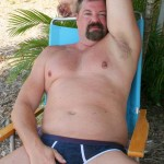 Hot Older Male Mitch Davis Beefy Chubby Smooth Daddy Jerking His Thick Cock Amateur Gay Porn 09 150x150 Beefy Smooth Daddy With A Thick Cock Jerking Off