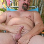 Hot Older Male Mitch Davis Beefy Chubby Smooth Daddy Jerking His Thick Cock Amateur Gay Porn 14 150x150 Beefy Smooth Daddy With A Thick Cock Jerking Off