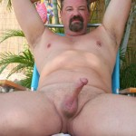 Hot Older Male Mitch Davis Beefy Chubby Smooth Daddy Jerking His Thick Cock Amateur Gay Porn 16 150x150 Beefy Smooth Daddy With A Thick Cock Jerking Off