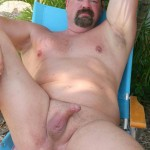 Hot Older Male Mitch Davis Beefy Chubby Smooth Daddy Jerking His Thick Cock Amateur Gay Porn 20 150x150 Beefy Smooth Daddy With A Thick Cock Jerking Off