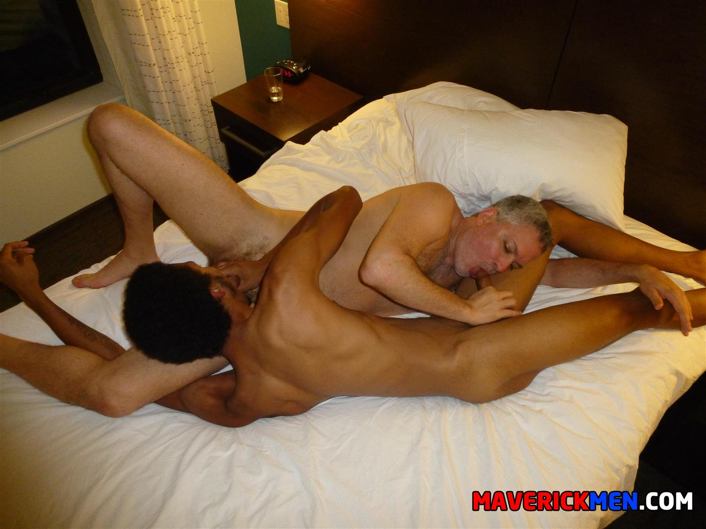 Maverick-Men-Richie-Black-Twink-Takes-Two-Muscle-Daddy-Cocks-Bareback-Amateur-Gay-Porn-23 Black Top Twink Takes Two Raw Muscle Daddy Cocks Up The Ass