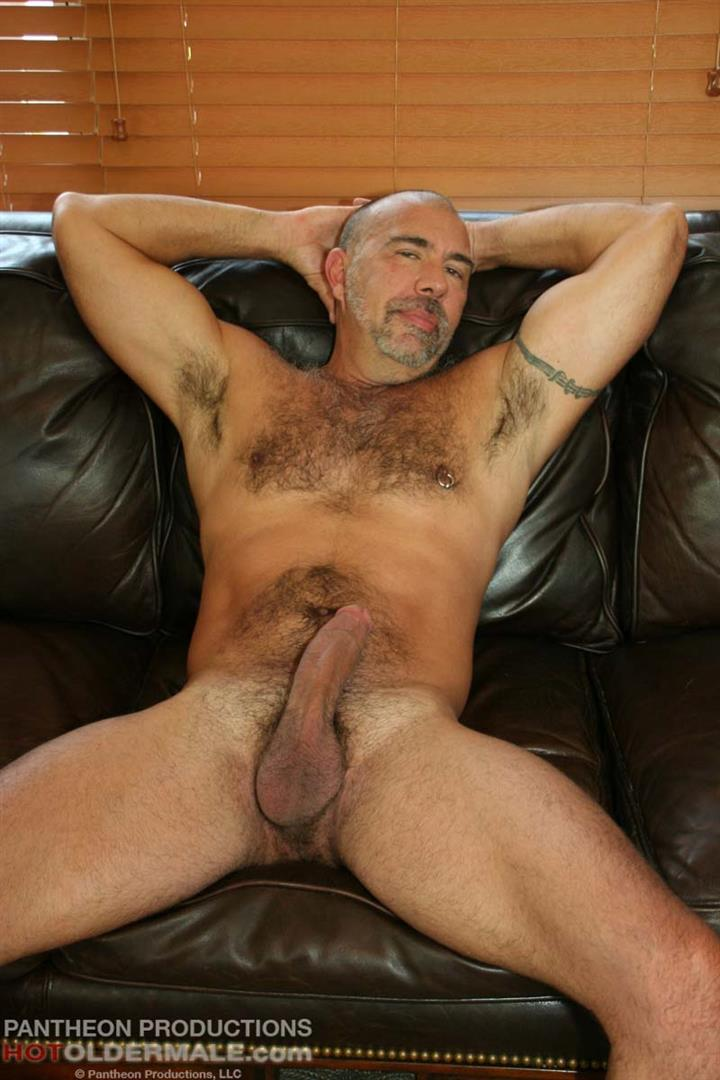 Hot-Older-Male-Jason-Proud-Hairy-Muscle-Daddy-With-A-Big-Thick-Cock-Amateur-Gay-Porn-08 Hairy Muscle Daddy Stroking His Thick Hairy Cock