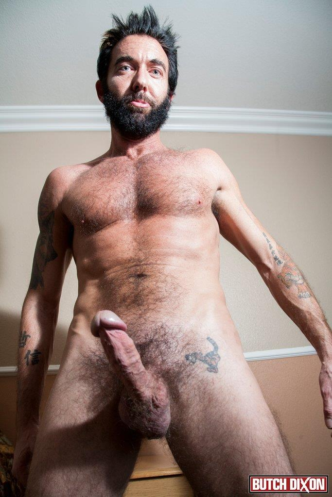 Butch Dixon Tom Nero Hairy Daddy Jerking Off A Big Fat Mushroom Head Cock Amateur Gay Porn 06 Hairy Stud Tom Nero Jerking His Thick Mushroom Head Cock