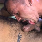 Cum Pig Men Jimmie Slater and Alessio Romero Hairy Muscle Daddy Getting Blow Job Amateur Gay Porn 49 150x150 Jimmie Slater Sucks A Load Of Cum Out Of Hairy Muscle Daddy Alessio Romero